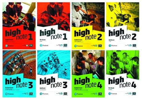 High Note 1, 2, 3, 4, 5 Student's Book + Workbook