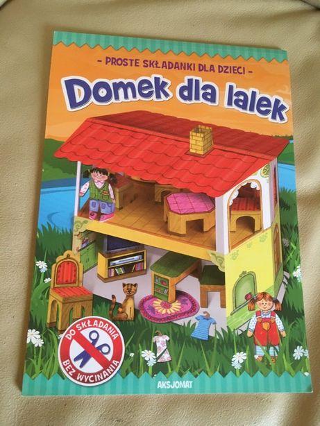 Nowe Składanki dla dzieci Domek dla lalek bez wycinania kartonowy