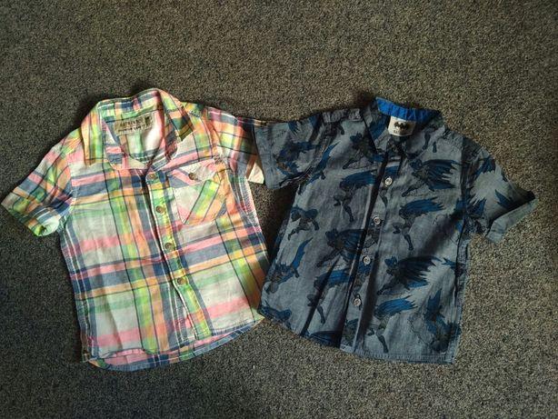 Рубашка Next на мальчика 9-12 мес