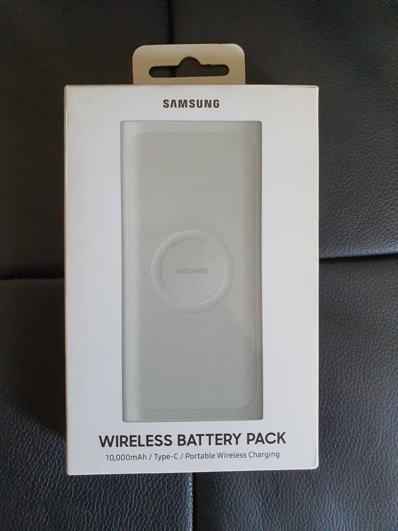 Powerbank Wireless Samsung de 10,000mAh (Novo a estrear)