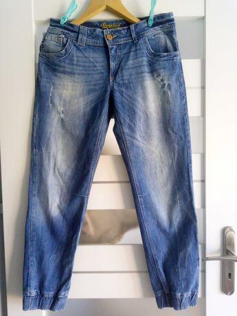 jeansy 12 40 boyfriendy przetarcia Next