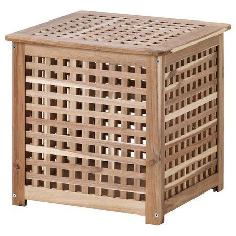 Caixa Arrumação madeira IKEA HOL
