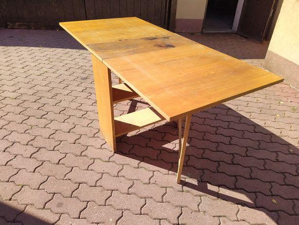 Stół ogrodowy drewniany składany