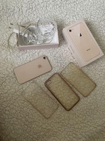 Iphone 8 rose gold stan świetny