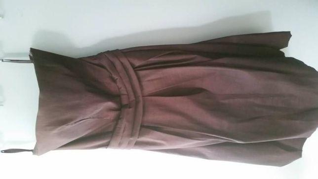 sukienka ciemny fiolet r. 36