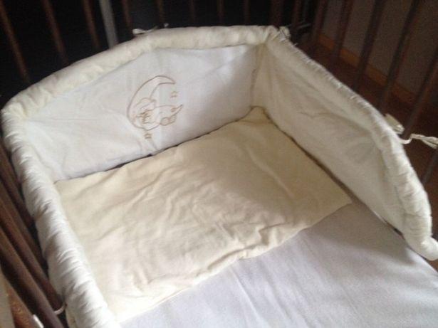 Pościel do łóżeczka z ochraniaczem