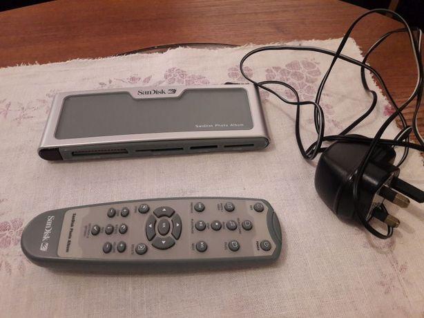 San disk czytnik kart dyskow usb mp3 sd wielofunkcyjny multimedialny
