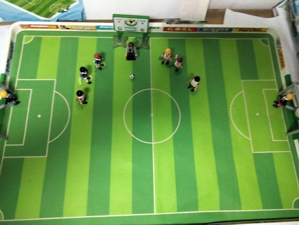 Playmobil piłkarzyki,boisko