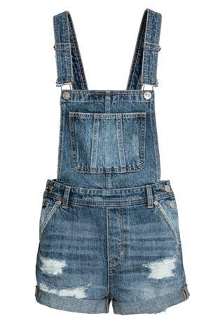 H&M Super ogrodniczki POSZUKIWANE mega przycierane NOWE hit XXS / 32