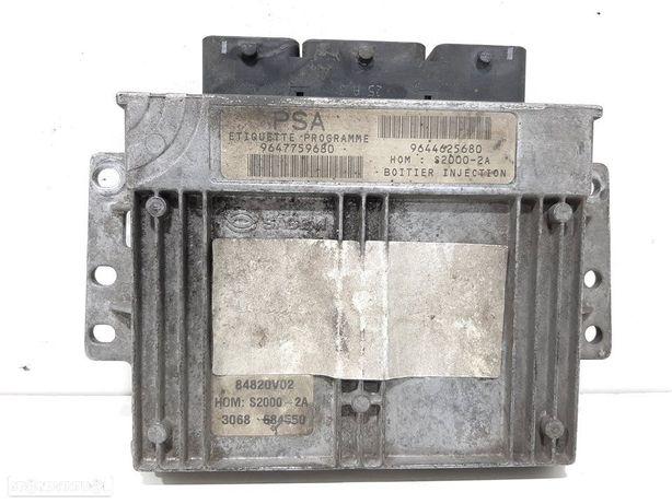 9647759680 Centralina do motor PEUGEOT 206 Hatchback (2A/C) 1.4 i