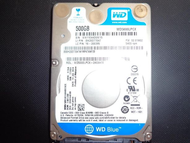 Dysk 500 GB