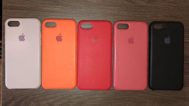 Силиконовые чехлы на iphone 7