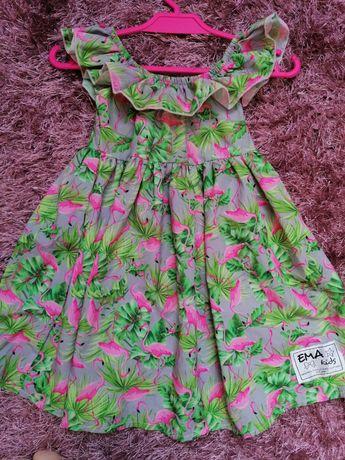 Piękna sukieneczka na 2 latka rozmiar 86