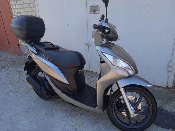 Хонда Діо 110 Honda Dio 110 Maxi Максі скутер мопед моторолер 2 місний