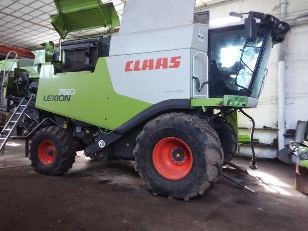 Продаємо комбайн CLAAS Lexion 760 2012 року випуску