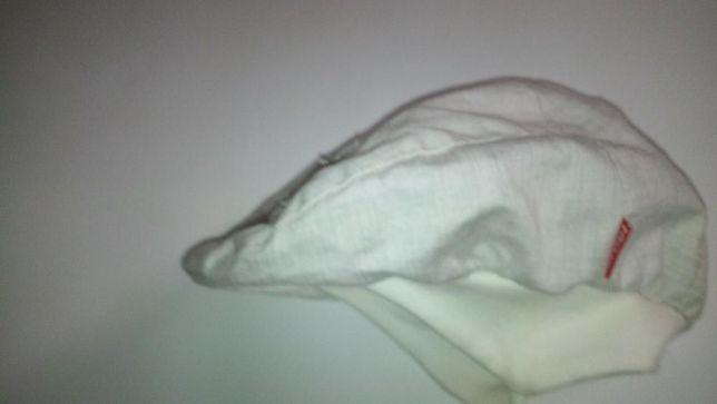 Kaszkiet czapka (na uszy,troczki) NOWA broel wiosenna