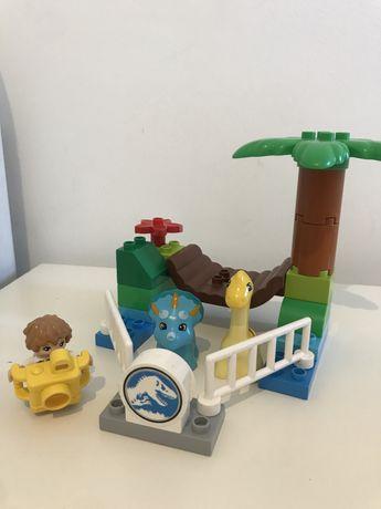 Lego duplo динозавры 10879