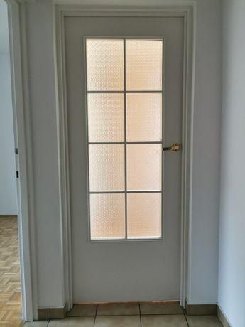 Drzwi wewnętrzne białe 6szt bez ościeżnic 80zł/skrzydło