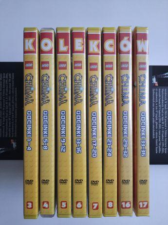Kolekcja Filmów Lego Chima, odcinki: 1-24 oraz 29-36