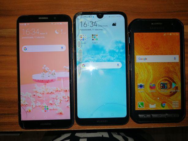 3 telefony sprawne