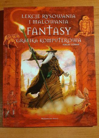Lekcje rysowania i malowania fantasy Grafika komputerowa- Finlay Cowan