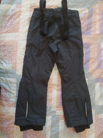 Теплые штаны комбинезон 6-9 лет