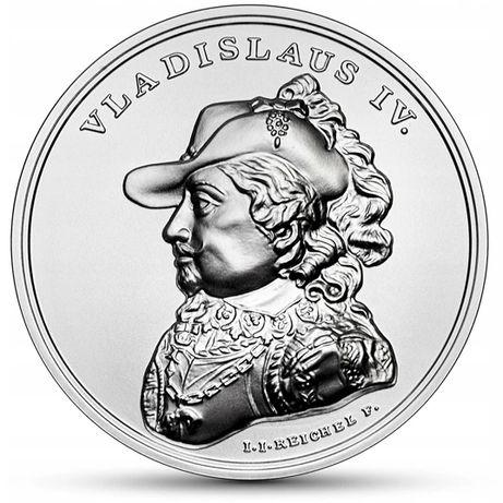 50 zł Władysław IV - Skarby St. Augusta srebro 2020