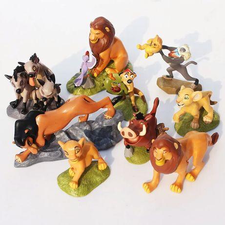 NOWE duze figurki krol lew zestaw figurek simba nala mufasa rafiki