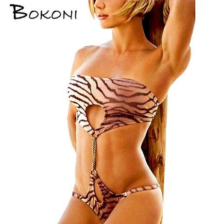 Bikini damskie Bokoni S 36 M 38 Push Upp strój kąpielowy