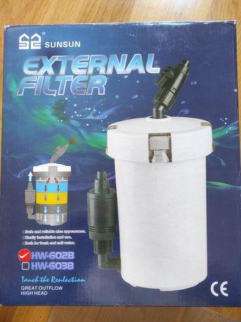 Filtro para aquário (peixes ou tartaruga) SUNSUN HW-602B