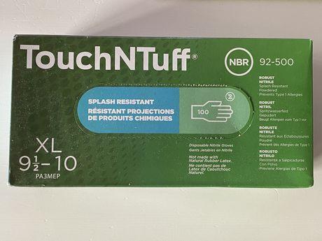 Rękawice ochronne nitrylowe ANSELL TOUCHNTUFF 92-500 XL