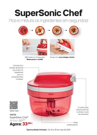 Super Chefe Sonic Tupperware