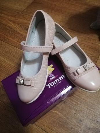 Туфли tomm 31 размер 19,5 см стелька