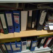 Продаю папки регистраторы для бумаг и файлов А4 Корона 7см.