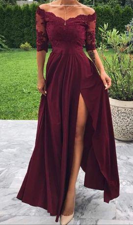 Sukienka na studniówkę, komers, półmetek, wesele, wyjściowa, długa