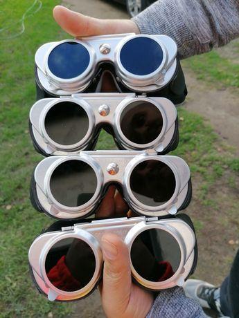 Okulary do spawania 4 sztuki
