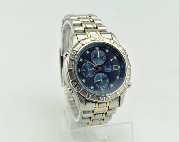 Citizen Eco Drive Chronograph 0870-h11691 Solar Powered