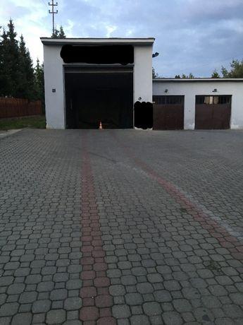 Do wynajęcia garaże pod warsztat lub myjnię samochodową.