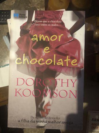 Livro - Amor e chocolate