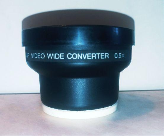 Широкоугольный преобразователь видео AF 0,5x