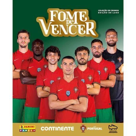 CROMOS - Fome de vencer - euro 2020