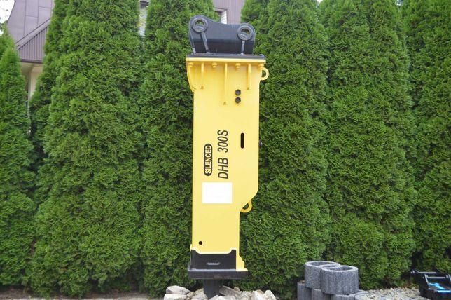 Młot hydrauliczny wyburzeniowy DHB 45S koparka 7 -  14 ton CAT VOLVO