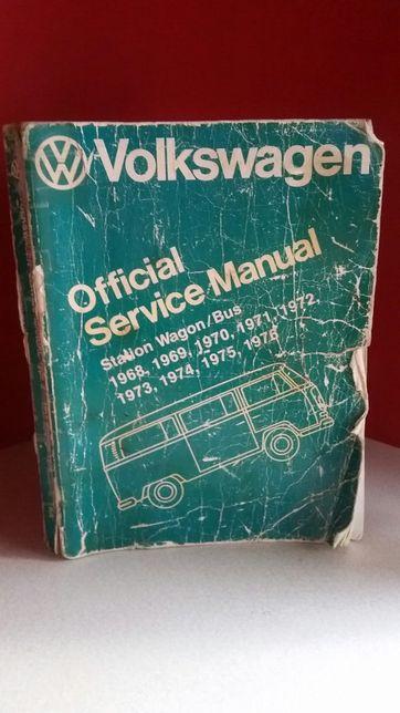 Książka serwisowa VW Bus 1968/76