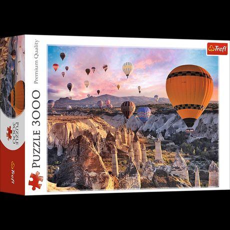 Puzzle Trefl 3000 /Balony nad Kapadocją