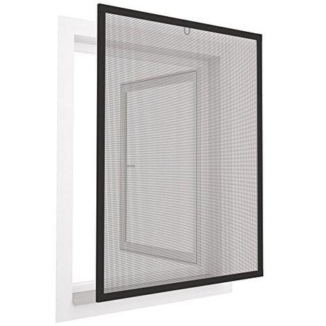 Moskitiera czarna rama aluminiowa 100x120cm EASY LIFE