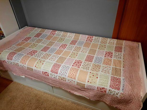 Colcha cama criança + resguardo
