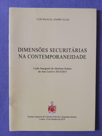 """Livro """"Dimensões Securitárias na Contemporaneidade"""""""