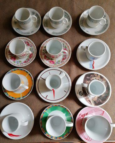 12 chávenas café