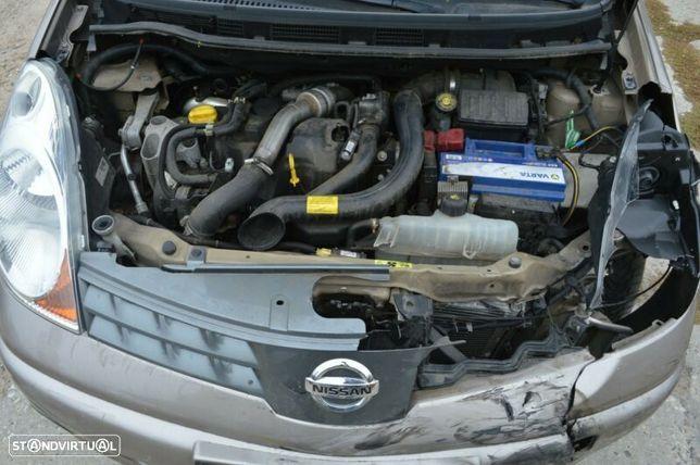 Motor Nissan Qashqai Note 1.5dci 105cv K9K282 K9K292 Caixa de Velocidades Motor Arranque Alterndor
