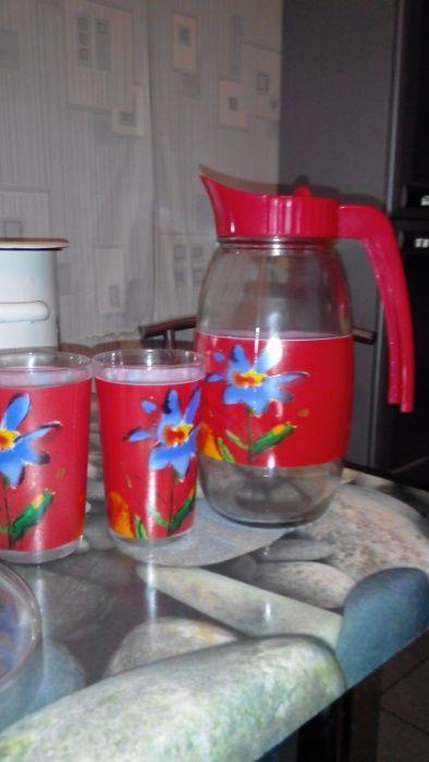 Набор кувшин и 2 стакана Краматорск - изображение 1